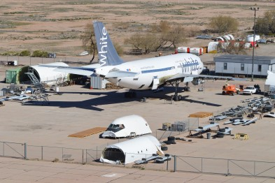 Planes sent to storage yards as coronavirus rages on